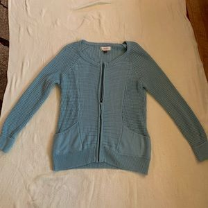 Sonoma Life Style zipper front sweater
